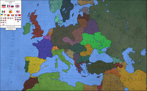 Europe - 1956 Aftermath of World War I by Breakingerr