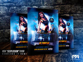 Sexplosion Party Flyer Template by pawlowskiart