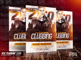 Clubbing Flyer Template by pawlowskiart