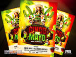 Cinco De Mayo PSD Flyer Template by pawlowskiart