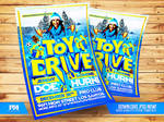 Toy Drive Flyer Template by pawlowskiart