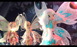 [Screenshot Redraw] Enchantix Fairies by Aryl-Phoenix