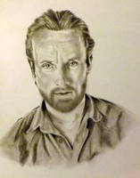Rick Grimes, Walking Dead by Ngrace80