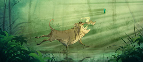 Babirusa... by Macbeto