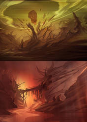 grave canyon by bezzemes