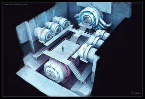 Machine Room by Sephiroth-Art