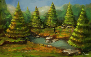 Forest by Sephiroth-Art