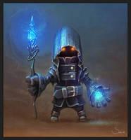 Black Mage by Sephiroth-Art