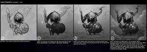 SLAVIC WARRIOR   Tutorial #1 by Sephiroth-Art