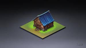 Isometric House Tutorial by Sephiroth-Art