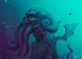 Cthulhu by Sephiroth-Art
