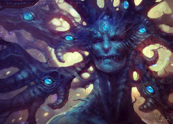 Yog-Sothoth by Sephiroth-Art