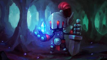 Crystal Knight by Sephiroth-Art