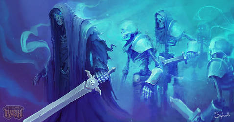 Art for Throne Rush   03 by Sephiroth-Art