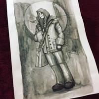 Sketch 01 Inktober 2016 by Sephiroth-Art