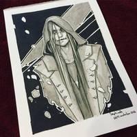 Sketch 02 Inktober 2016 by Sephiroth-Art