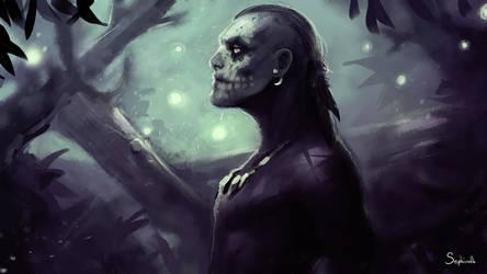Skull Man by Sephiroth-Art