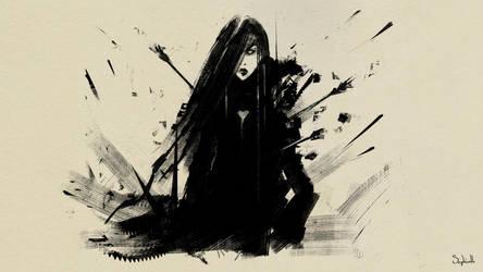 Hurt by Sephiroth-Art