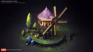 Isometric Windmill by Sephiroth-Art