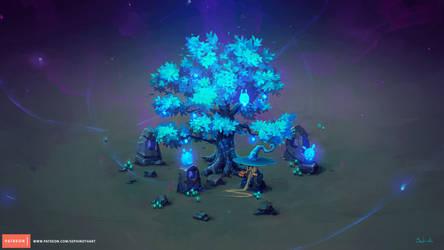 Isometric Mana Tree Tutorial   Patreon by Sephiroth-Art