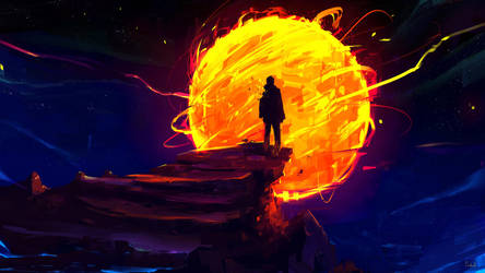 Too Close by Sephiroth-Art