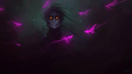 Neon Fish by Sephiroth-Art