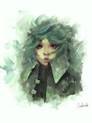 Green by Sephiroth-Art
