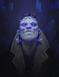 Frankenstein Monster by Sephiroth-Art