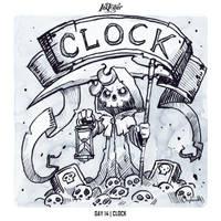 INKTOBER 2018 Day 14 - Clock by Sephiroth-Art
