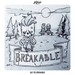 INKTOBER 2018 Day 20 - Breakable by Sephiroth-Art