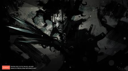 Edward Scissorhands by Sephiroth-Art