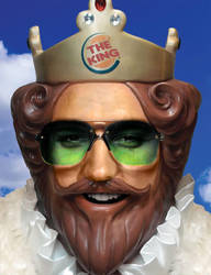 Elvis: The Burger King of Rock by Robotlick
