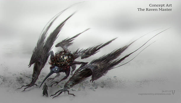 The Raven Master . Bloodborn by vertry