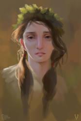 Melancholy Girl by vertry