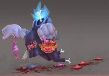 Kind Butcher gost by vertry