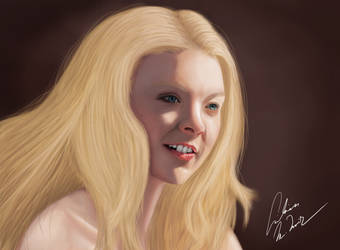 Lucent Beauty of Natalie Dormer by LilianMNoir