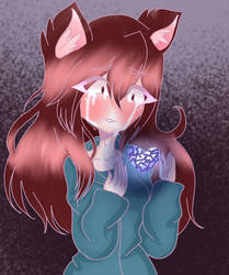 I tried drawing with Ibis Paint x by xDreamyGirlx