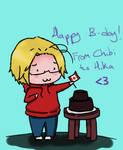 Felicidades~ :D by ChibiLOL
