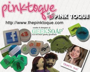 The Pink Toque 2010 dA ID by pinktoque