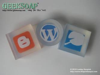 Blog Platform GEEKSOAP by pinktoque