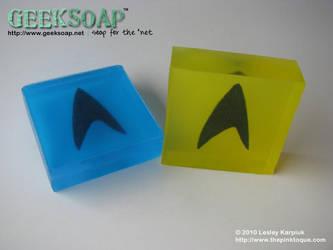 Star Trek GEEKSOAP Geek Soap by pinktoque