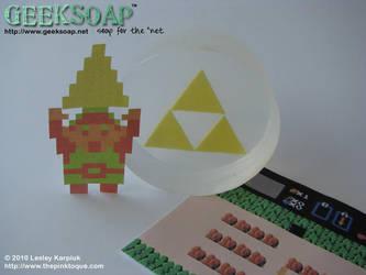 Zelda Triforce GEEKSOAP by pinktoque