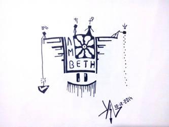 #5 (Burial - Lambeth) by akgshino