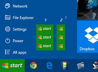 Start Luna for Windows 10 (Start10 Stardock) by rehsup
