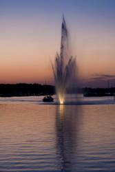 Sunset in Lappeenranta by Timosetae