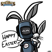 Happy Easter! by Adam-Clowery