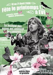 'Fete le printemps' Flyer by frieskoh