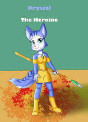 Dinosaur Planet Poster - The Heroine by KendraEevee