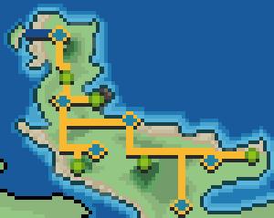 Alemina map by ShiningSunGraphics