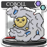 Coboll, Ice Cloud Fakemon by ShiningSunGraphics
